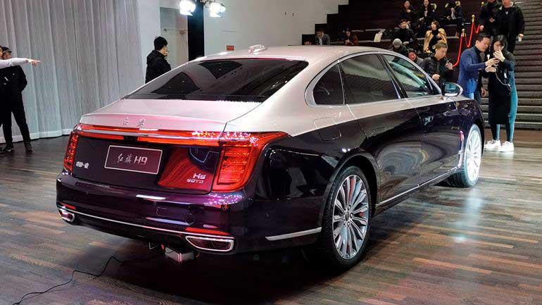 Старейший бренд Китая представил новый люксовый седан