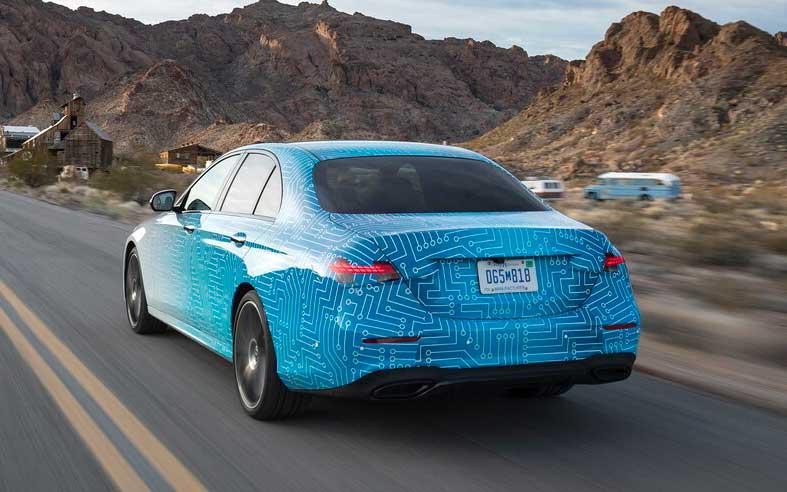 Mercedes-Benz E-Class 2021 - первый тест-драйв