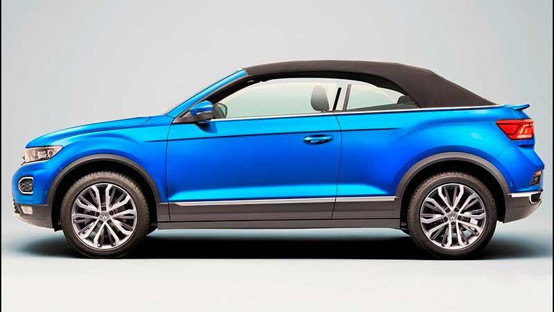 Новый Volkswagen T-Roc с мягкой крышей