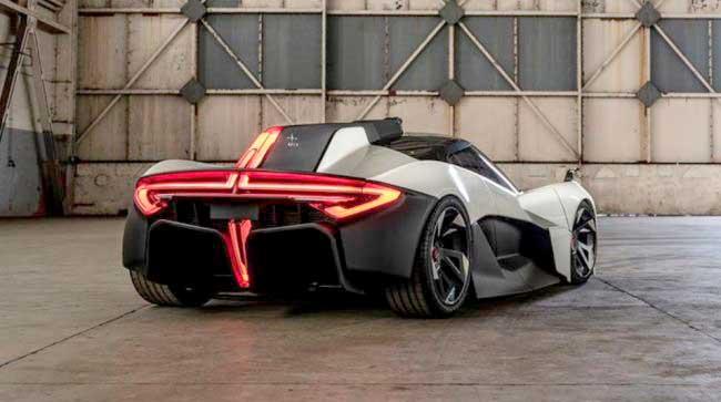 Apex AP-0 concept - карбоновый электрокар за 165 тыс. евро