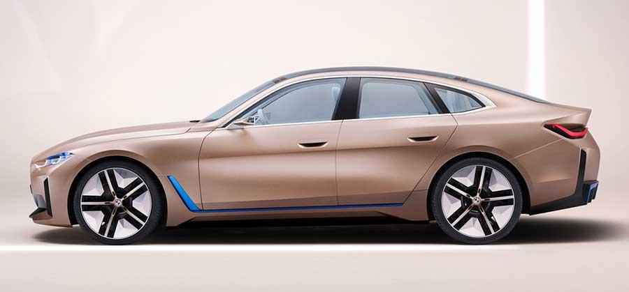 BMW i4 – новое электрического купе от именитого бренда