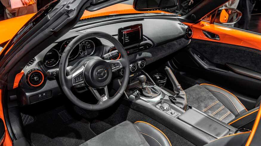 Представлена новая Mazda MX5 Miata